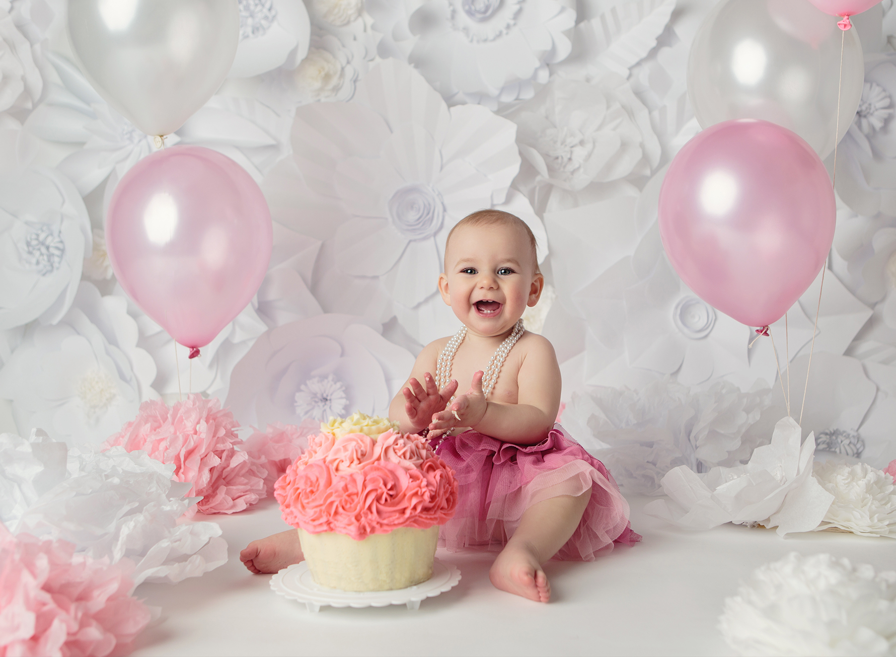 Cake Smash Session 2015 Edmonton Baby Photographer