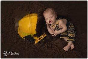 sudbury-photographer-helgahimer-newborn-ontario-firefighter-yellow-brownflokati-boy-cleftlip-baby